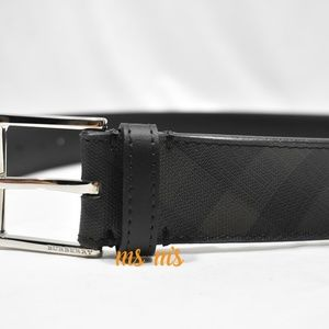 Burberry Accessories - NWOT Burberry JOE CHECK leather BELT Size 32in